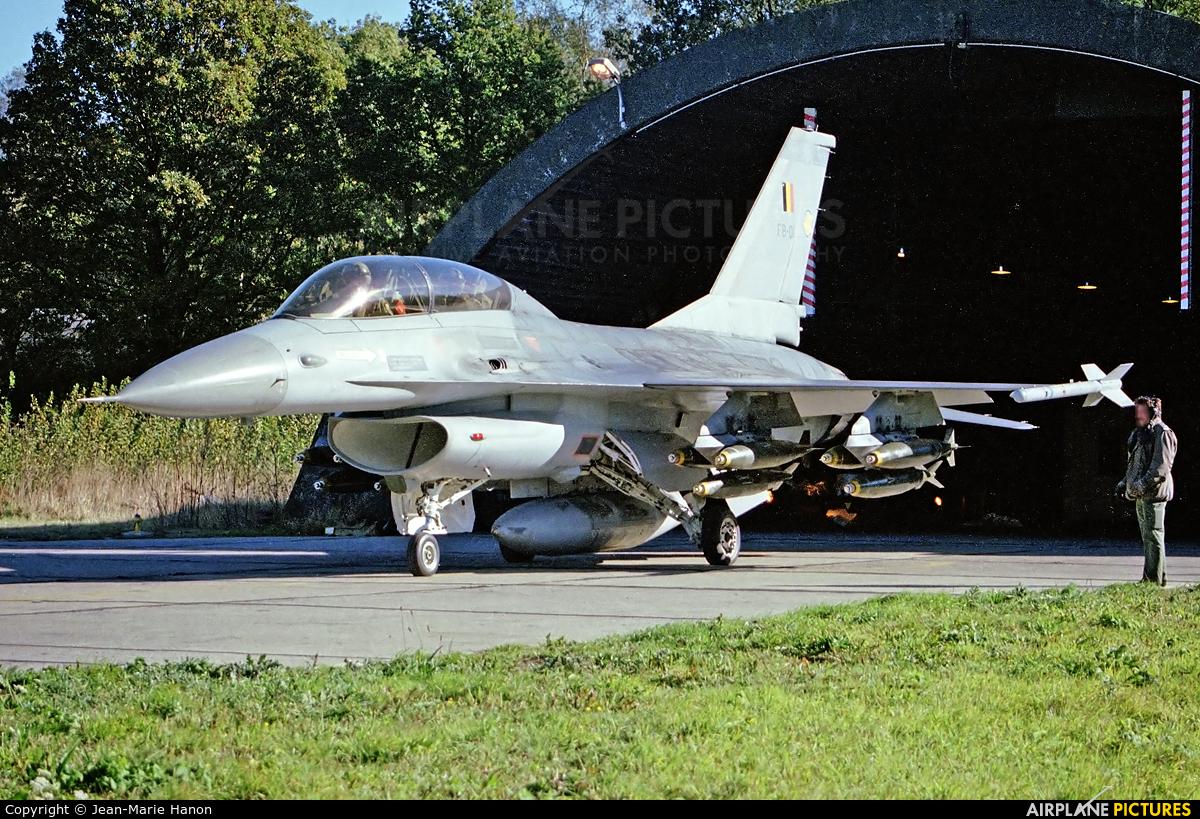 Belgium - Air Force FB-01 aircraft at Florennes