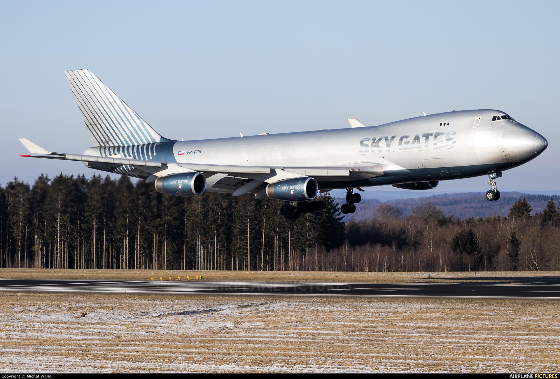 Sky Gates Airlines VP-BCH aircraft at Frankfurt - Hahn