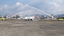 First visit of Boeing 737 MAX to Guatemala City title=