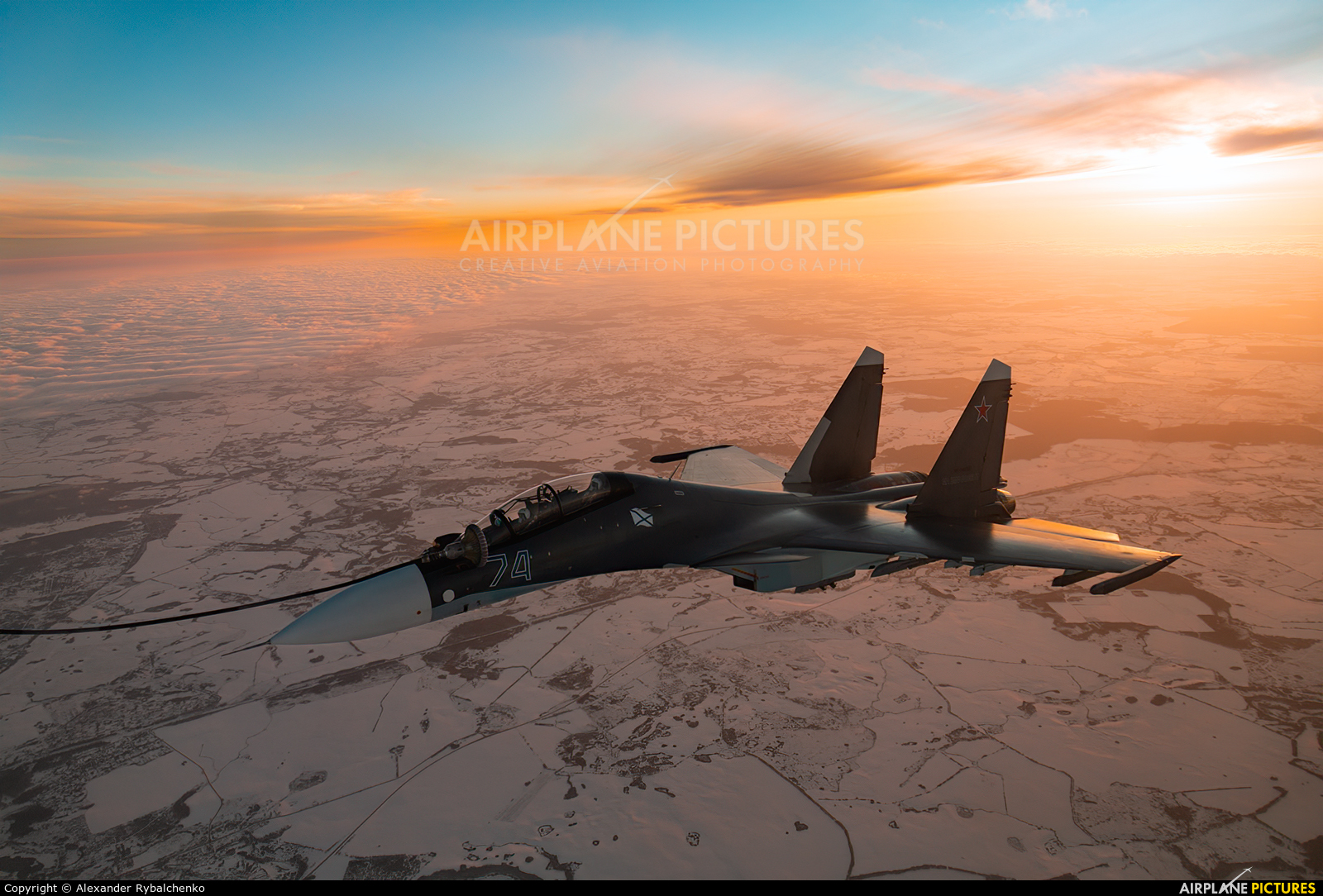 Russia - Navy RF-34012 aircraft at In Flight - Russia