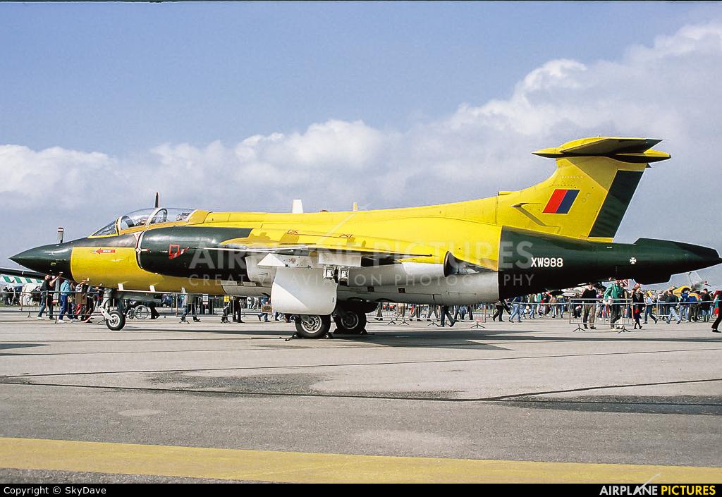 Royal Air Force XW988 aircraft at Boscombe Down
