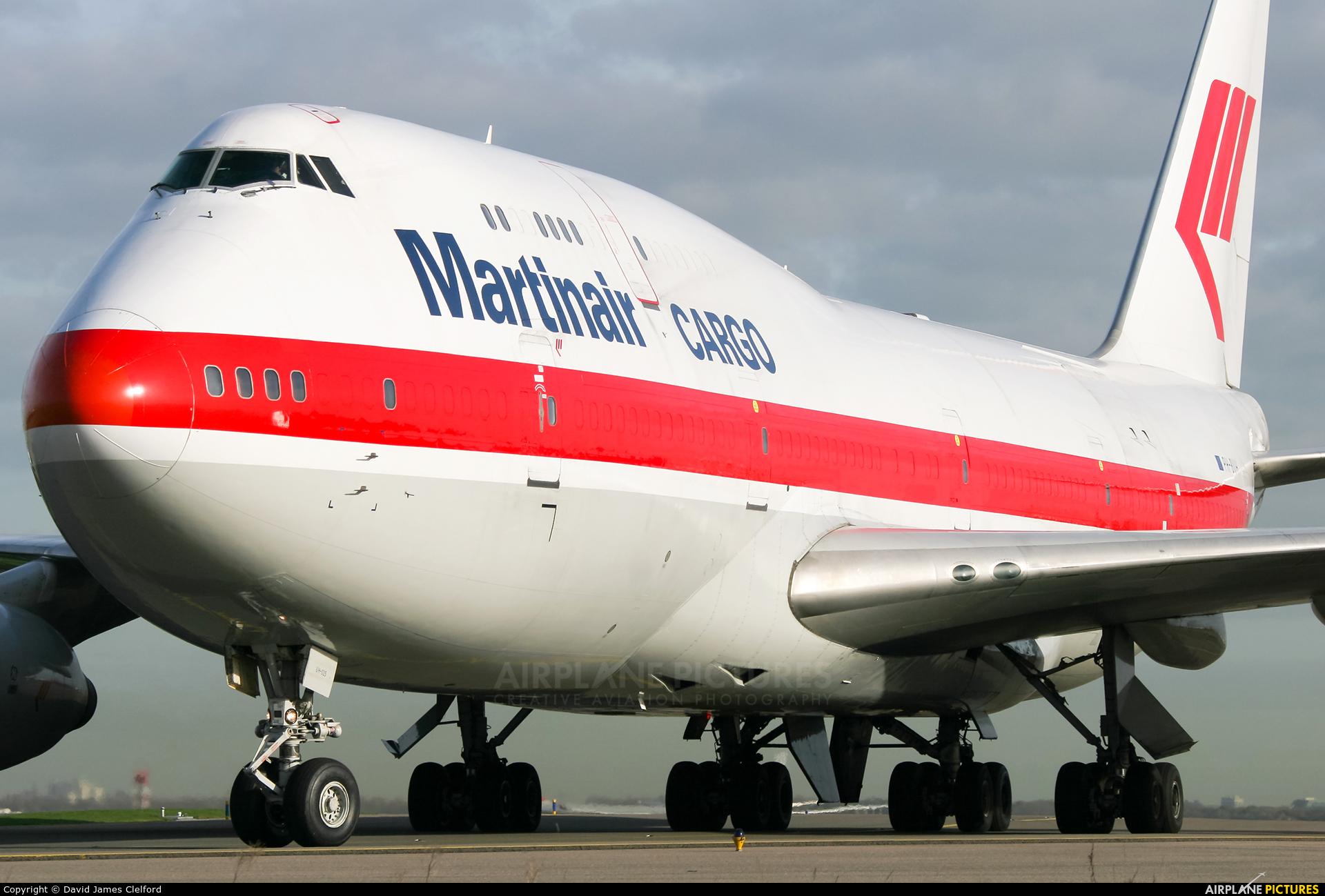 Martinair Cargo PH-BUH aircraft at Amsterdam - Schiphol
