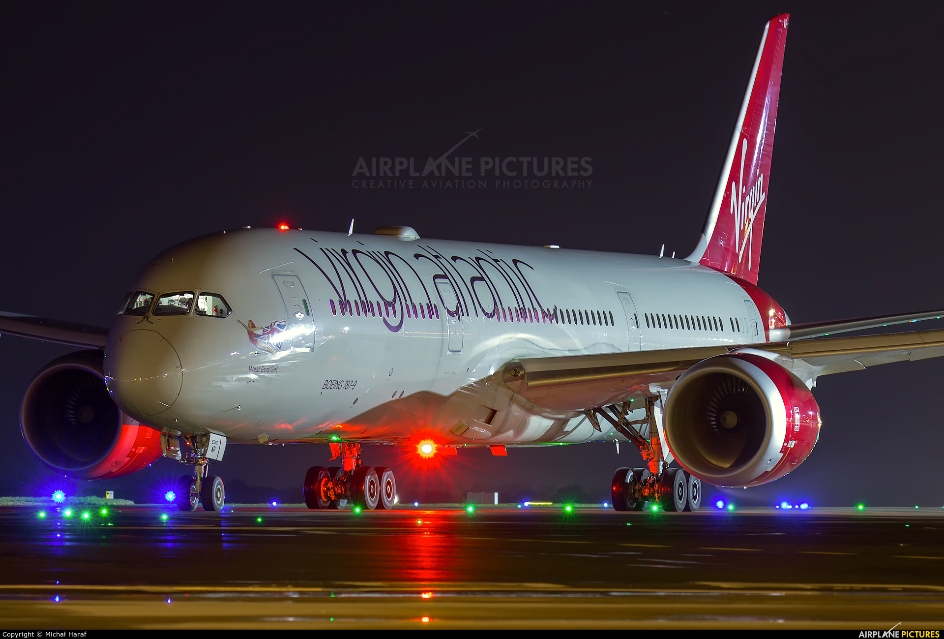 Virgin Atlantic G-VMAP aircraft at Dublin