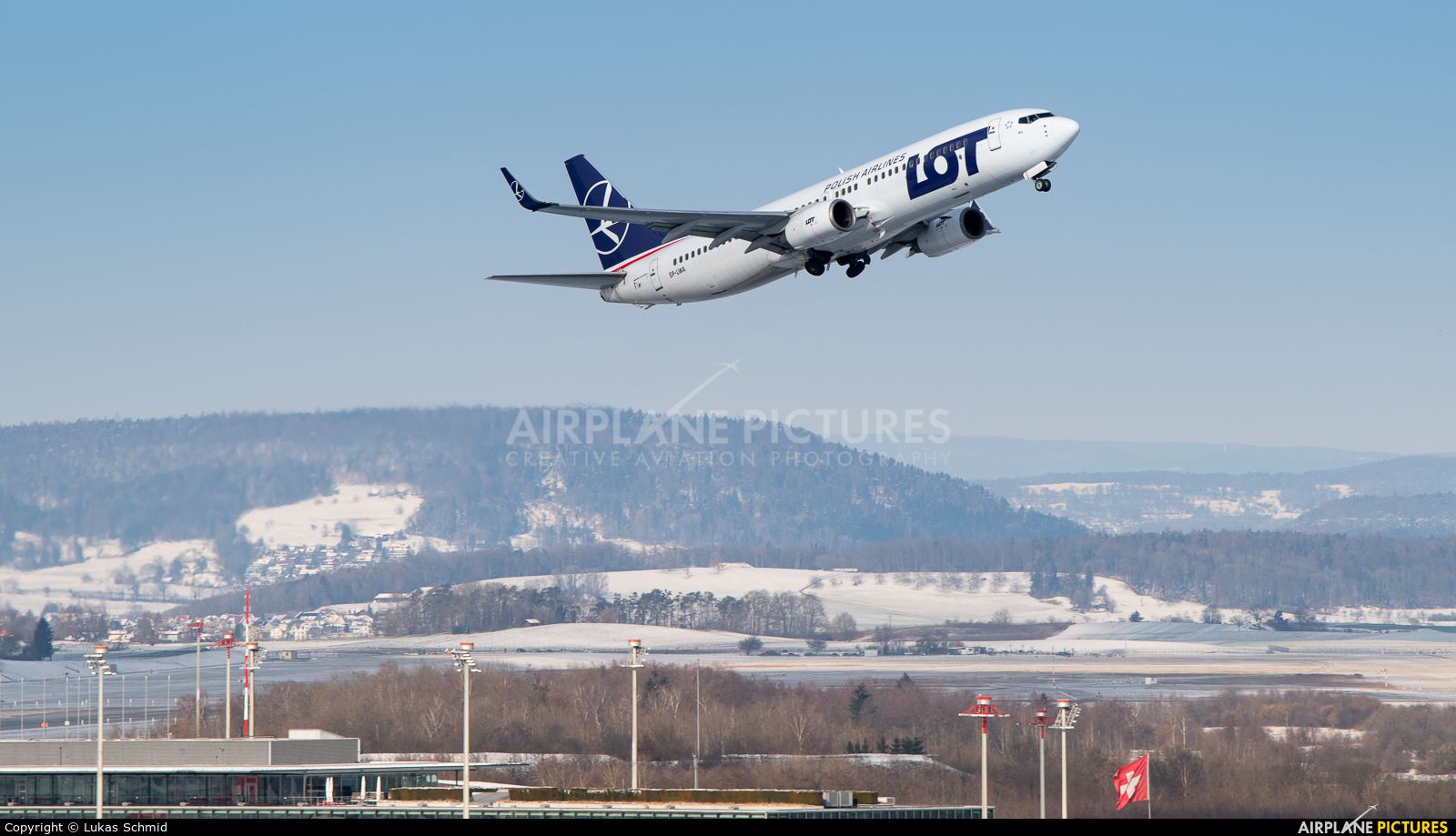 LOT - Polish Airlines SP-LWA aircraft at Zurich