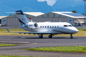 ZK-JCJ - Garden City Helicopters Bombardier CL-600-2B16 Challenger 604