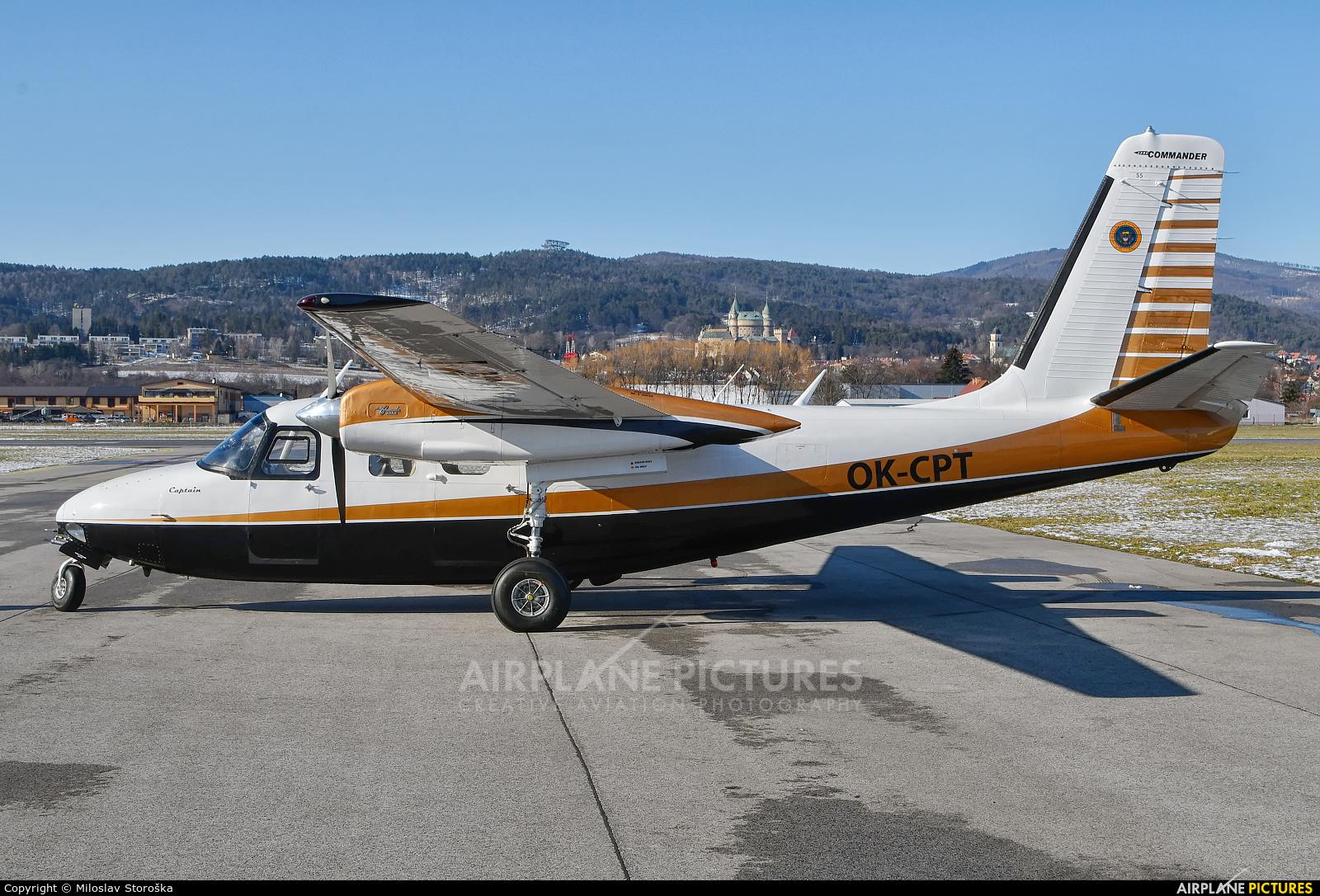 Private OK-CPT aircraft at Prievidza
