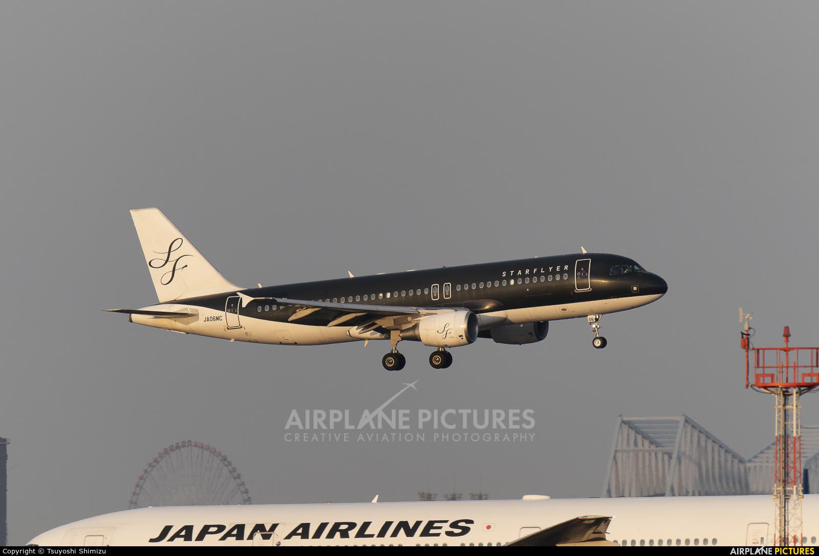 Starflyer JA06MC aircraft at Tokyo - Haneda Intl