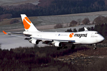 TF-AMC - Magma Aviation Boeing 747-400BCF, SF, BDSF