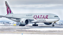 A7-BFX - Qatar Airways Cargo Boeing 777F aircraft