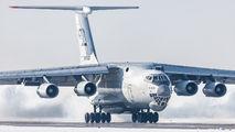 Aviacon Zitotrans Il-76 visited Ostrava title=