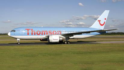 G-BYAB - Thomson/Thomsonfly Boeing 767-200