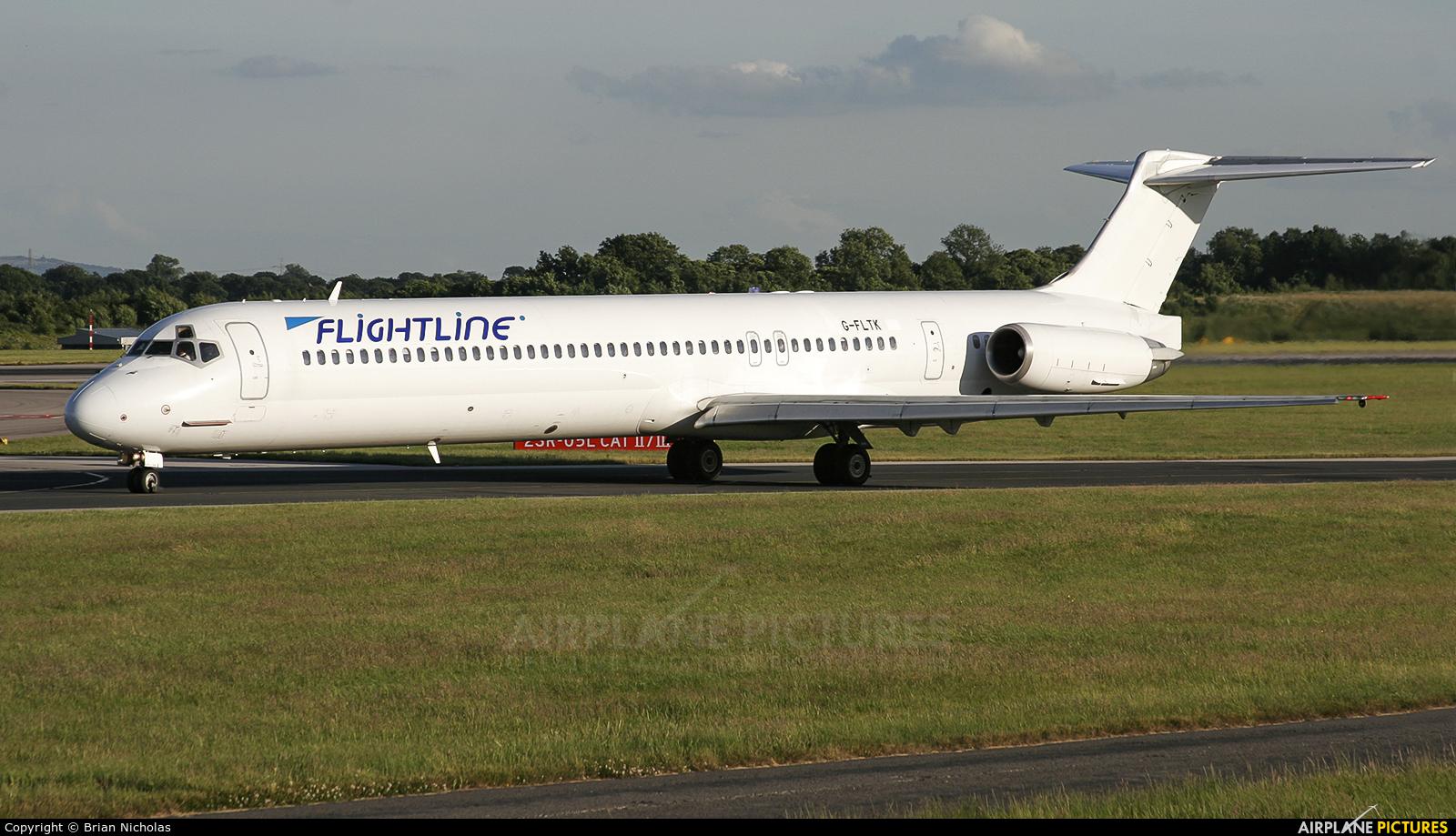 Flightline G-FLTK aircraft at Manchester