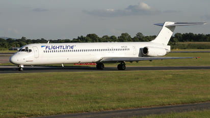 G-FLTK - Flightline McDonnell Douglas MD-83