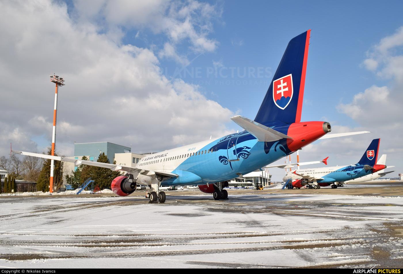 Slovakia - Government OM-BYA aircraft at Bratislava -M. R. Štefánik