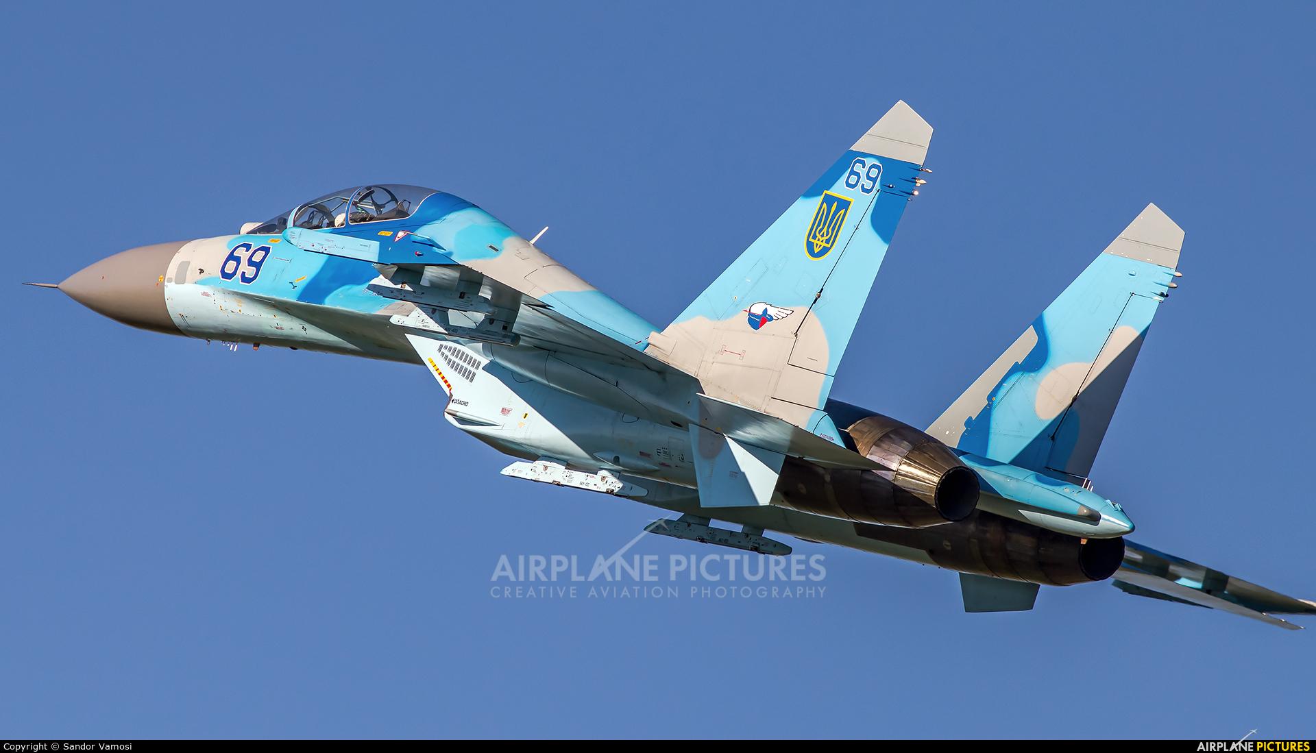 Ukraine - Air Force 69 aircraft at Hradec Králové