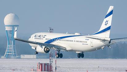 4X-EHI - El Al Israel Airlines Boeing 737-900ER