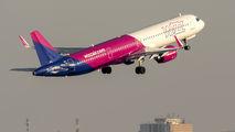 HA-LVN - Wizz Air Airbus A321 aircraft