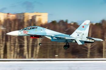 RF-95871 - Russia - Air Force Sukhoi Su-30 M2