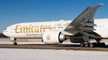 A6-EPY - Emirates Airlines Boeing 777-31H(ER) aircraft