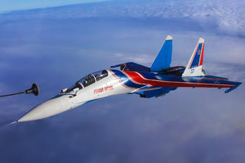 "37 BLUE - Russia - Air Force ""Russian Knights"" Sukhoi Su-30SM"
