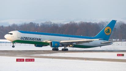 UK67002 - Uzbekistan Airways Boeing 767-300ER