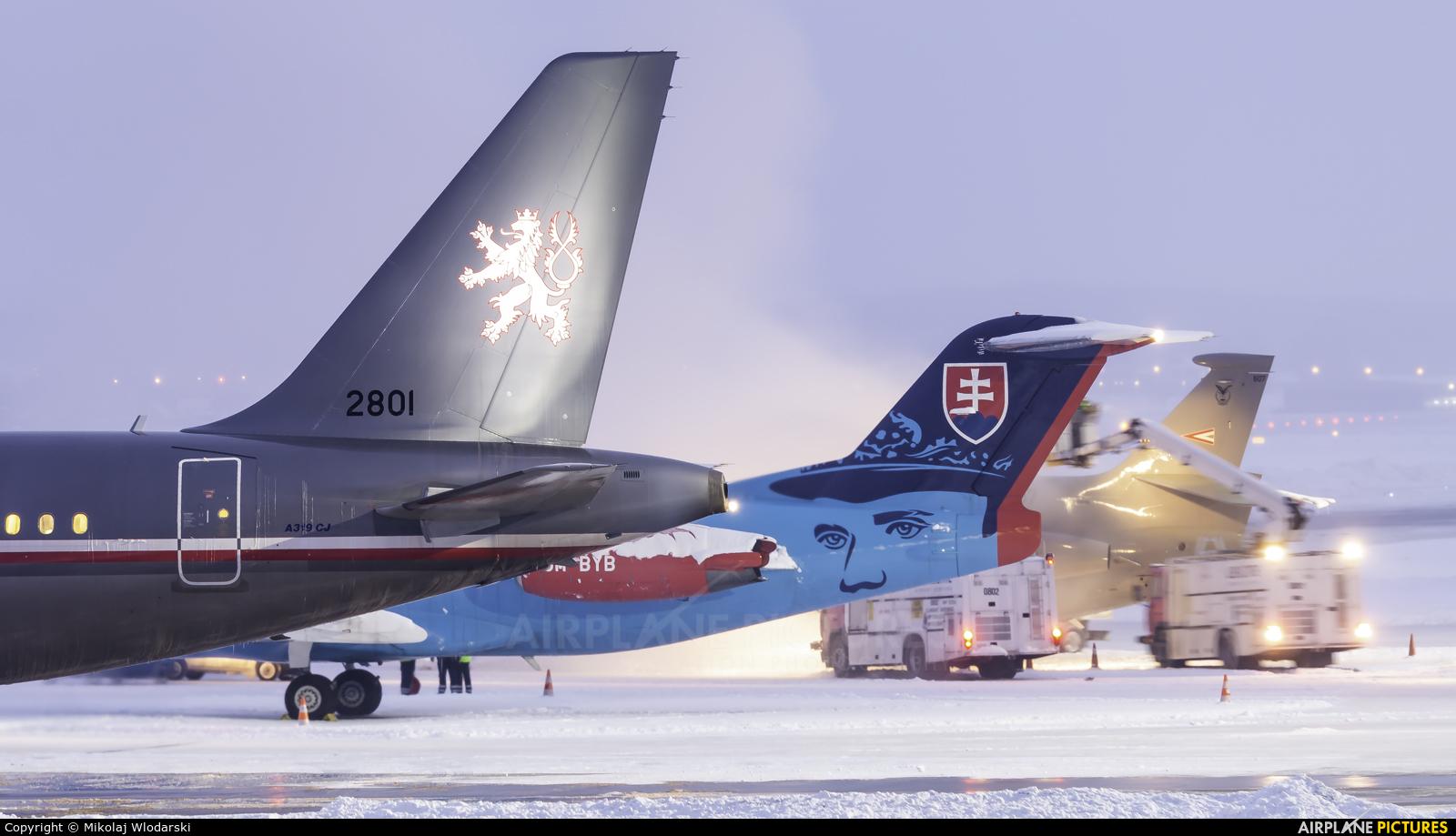 Czech - Air Force 2801 aircraft at Gdańsk - Lech Wałęsa