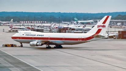 PK-GSE - Garuda Indonesia Boeing 747-200