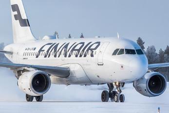 OH-LVK - Finnair Airbus A319