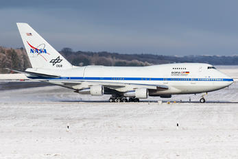 N747NA - NASA Boeing 747SP