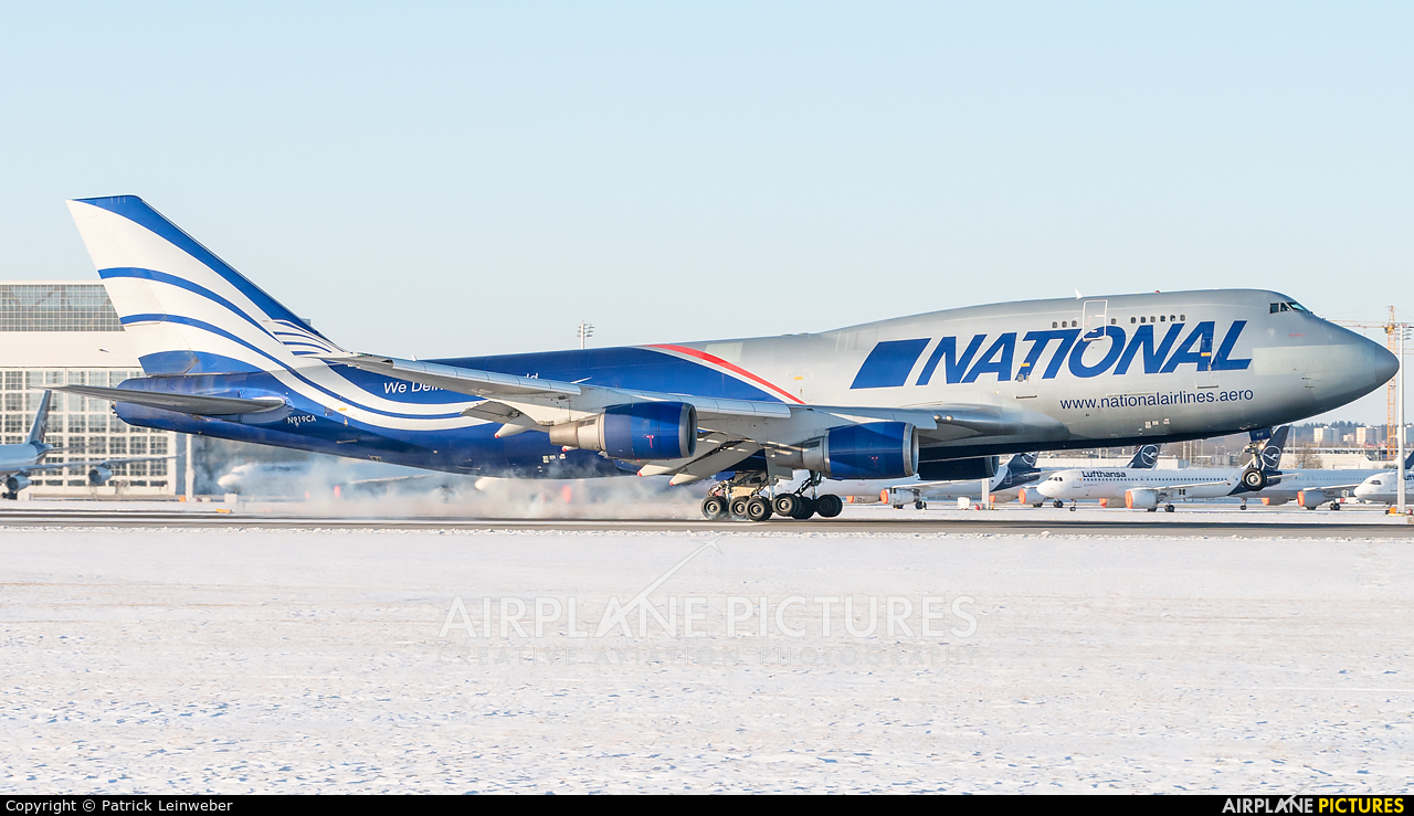 National Airlines N919CA aircraft at Munich