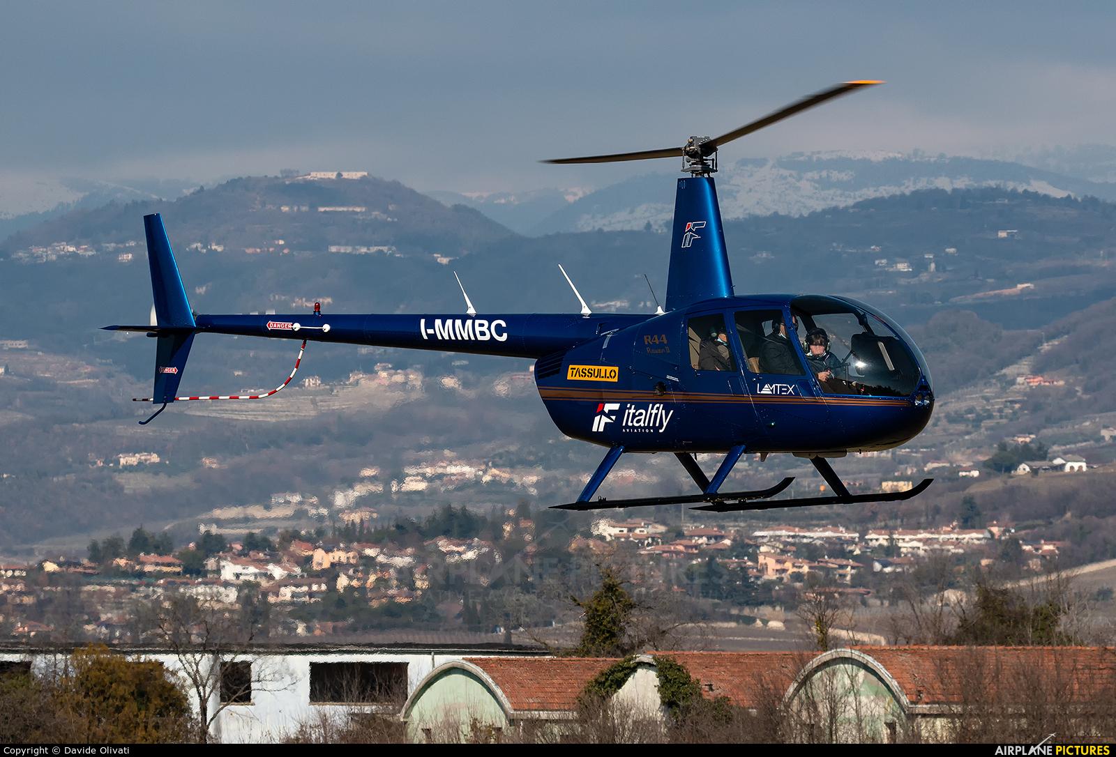 Private I-MMBC aircraft at Verona - Boscomantico