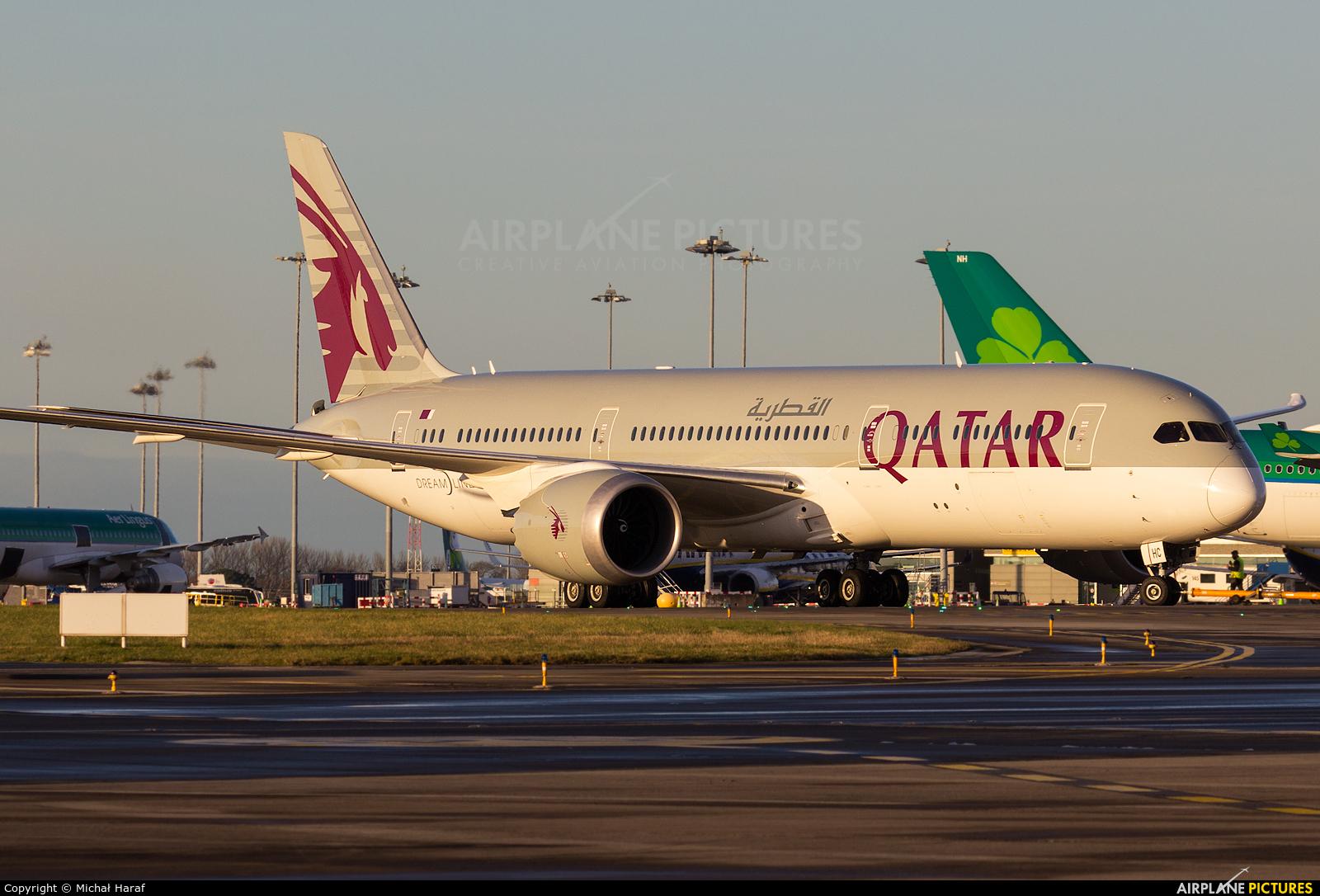 Qatar Airways A7-BHC aircraft at Dublin
