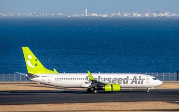 JA67AN - Solaseed Air Boeing 737-800