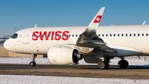 HB-JDB - Swiss Airbus A320 NEO aircraft