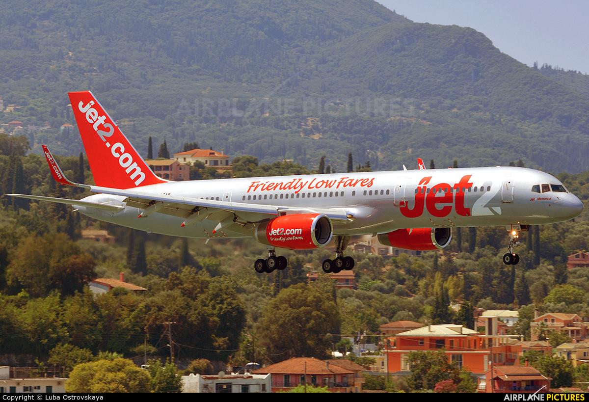 Jet2 G-LSAB aircraft at Corfu - Ioannis Kapodistrias