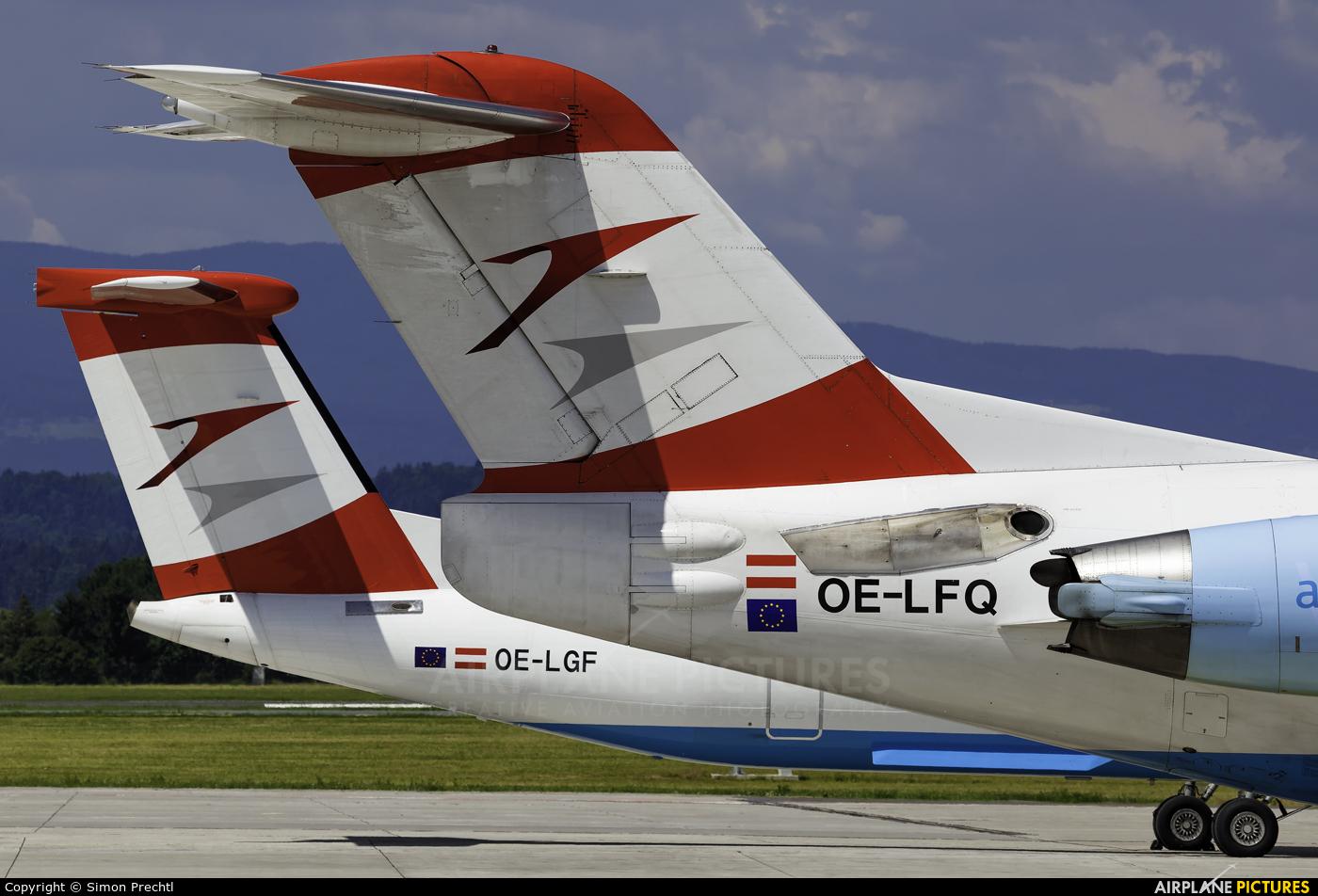 Austrian Airlines/Arrows/Tyrolean OE-LFQ aircraft at Graz