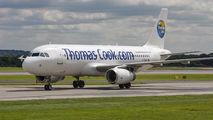 G-TCAC - Thomas Cook Airbus A320 aircraft