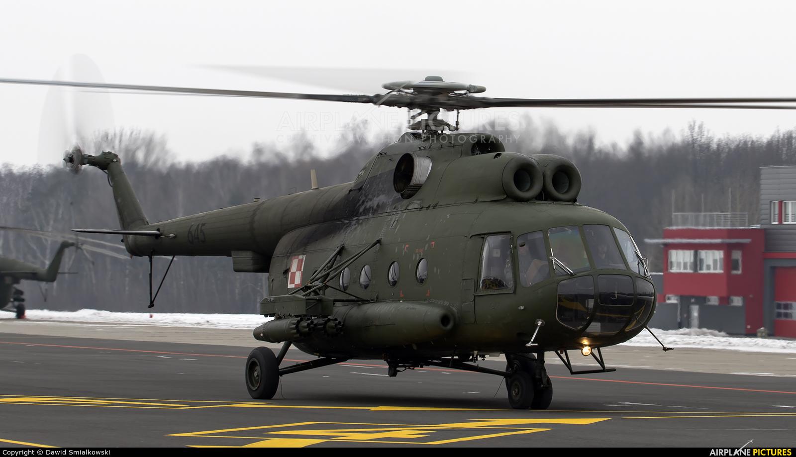 Poland - Army 645 aircraft at Leźnica Wielka