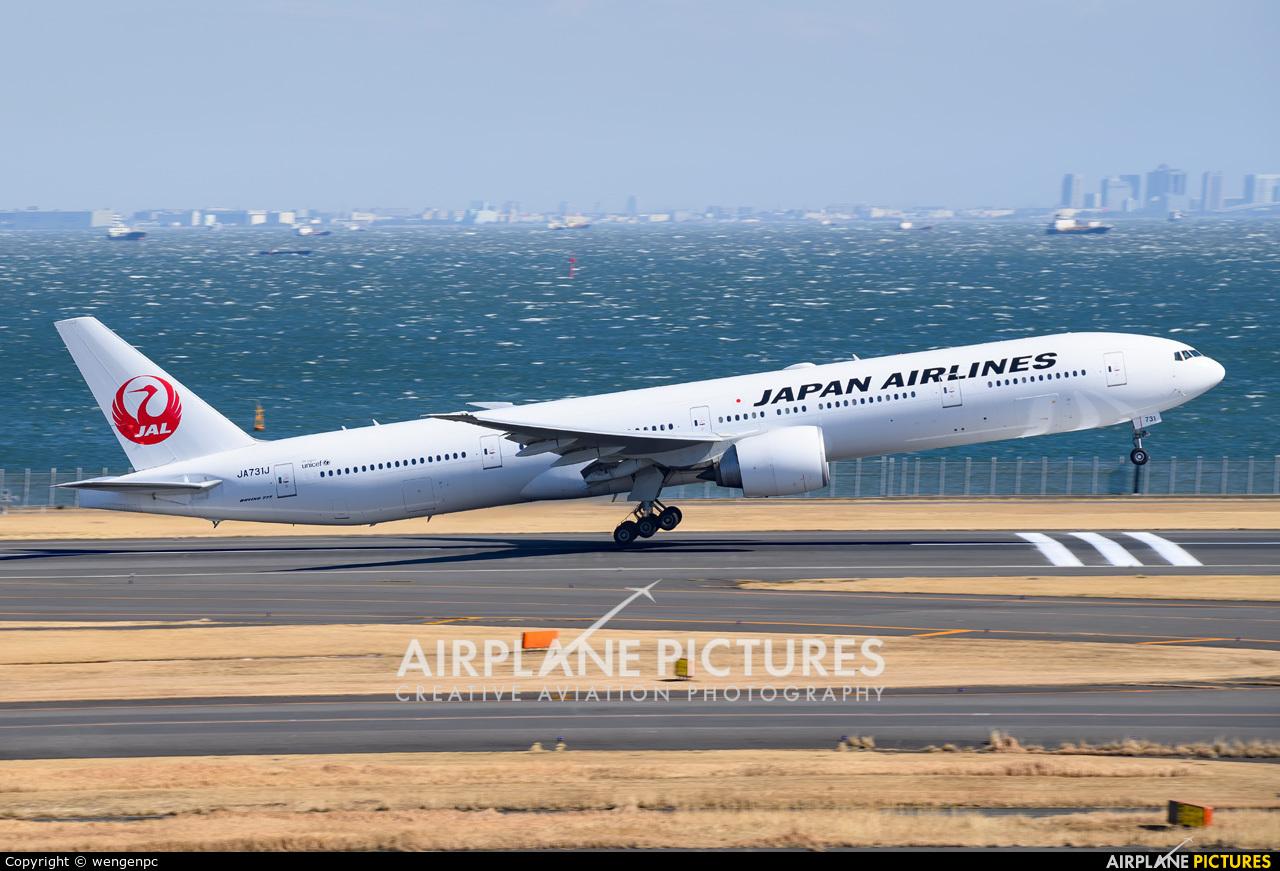 JAL - Japan Airlines JA731J aircraft at Tokyo - Haneda Intl