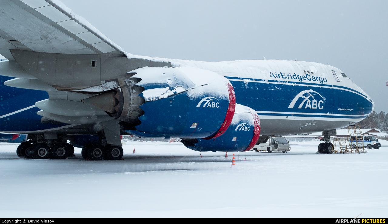 Air Bridge Cargo VQ-BLR aircraft at Krasnoyarsk - Yemelyanovo