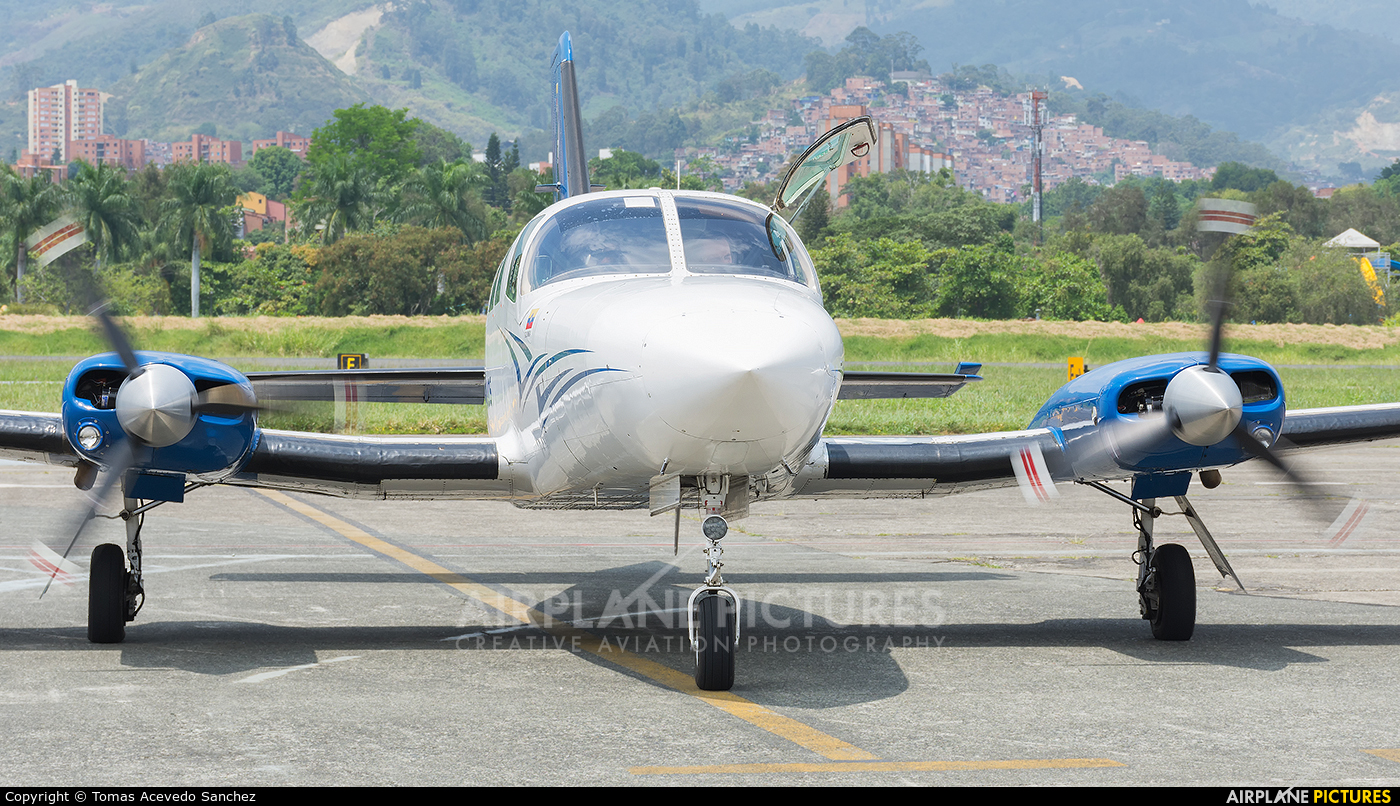 Aeroejecutivos de Antioquia HK-5245 aircraft at Medellin - Olaya Herrera