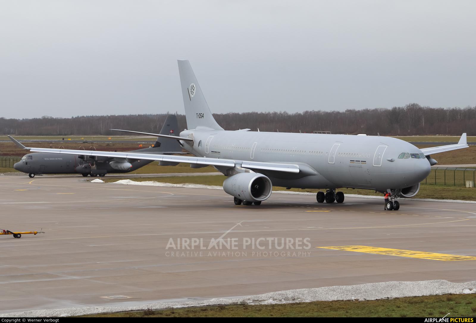 NATO T-054 aircraft at Eindhoven