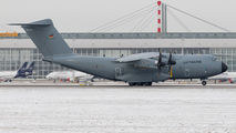 German Air Force Airbus A400 visited Munich title=