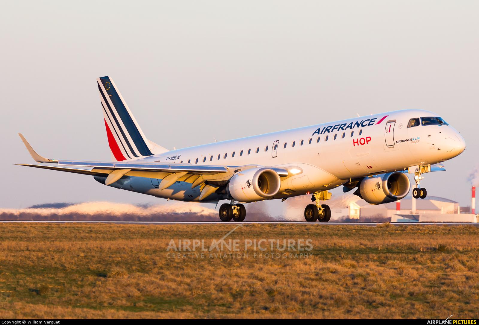 Air France - Hop! F-HBLN aircraft at Paris - Charles de Gaulle