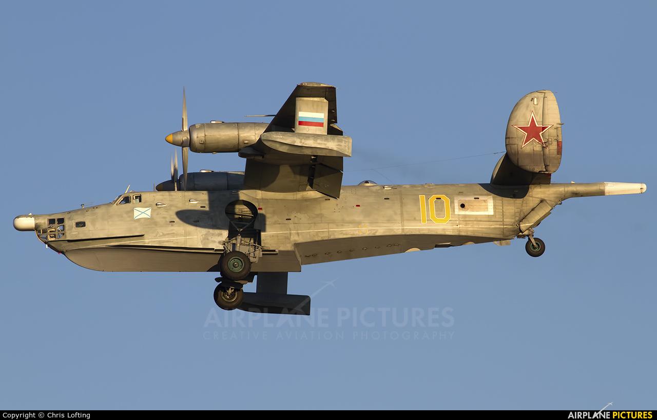 Russia - Navy 10 YELLOW aircraft at Saki - Novofedorovka