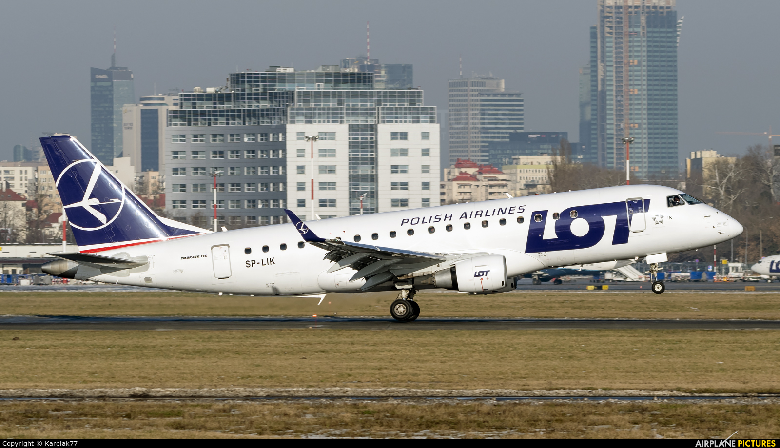 LOT - Polish Airlines SP-LIK aircraft at Warsaw - Frederic Chopin