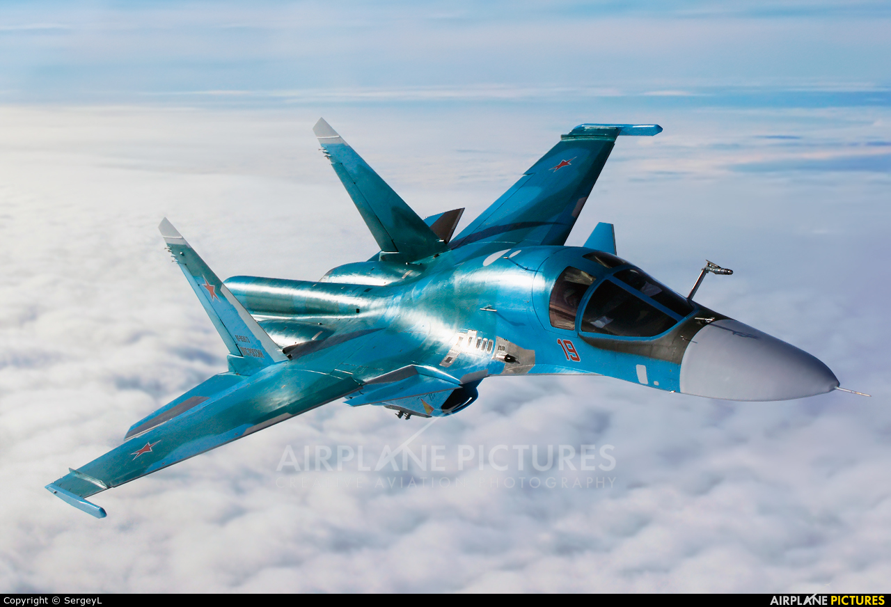 Russia - Air Force 19 RED aircraft at In Flight - Russia