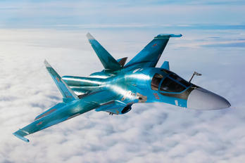 19 RED - Russia - Air Force Sukhoi Su-34