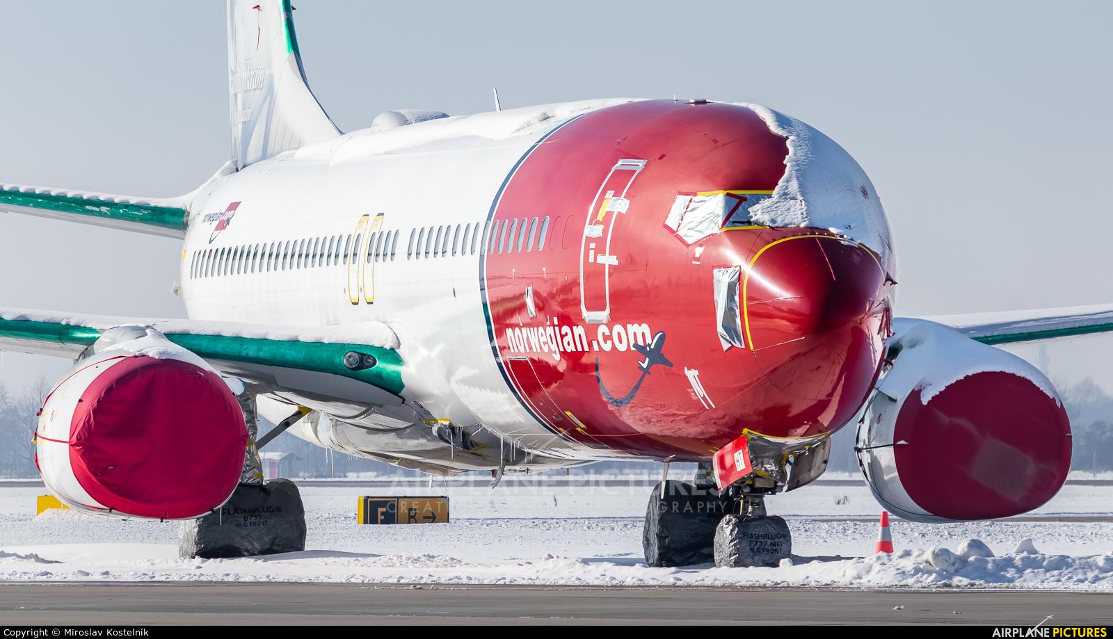 Norwegian Air International EI-FHT aircraft at Ostrava Mošnov