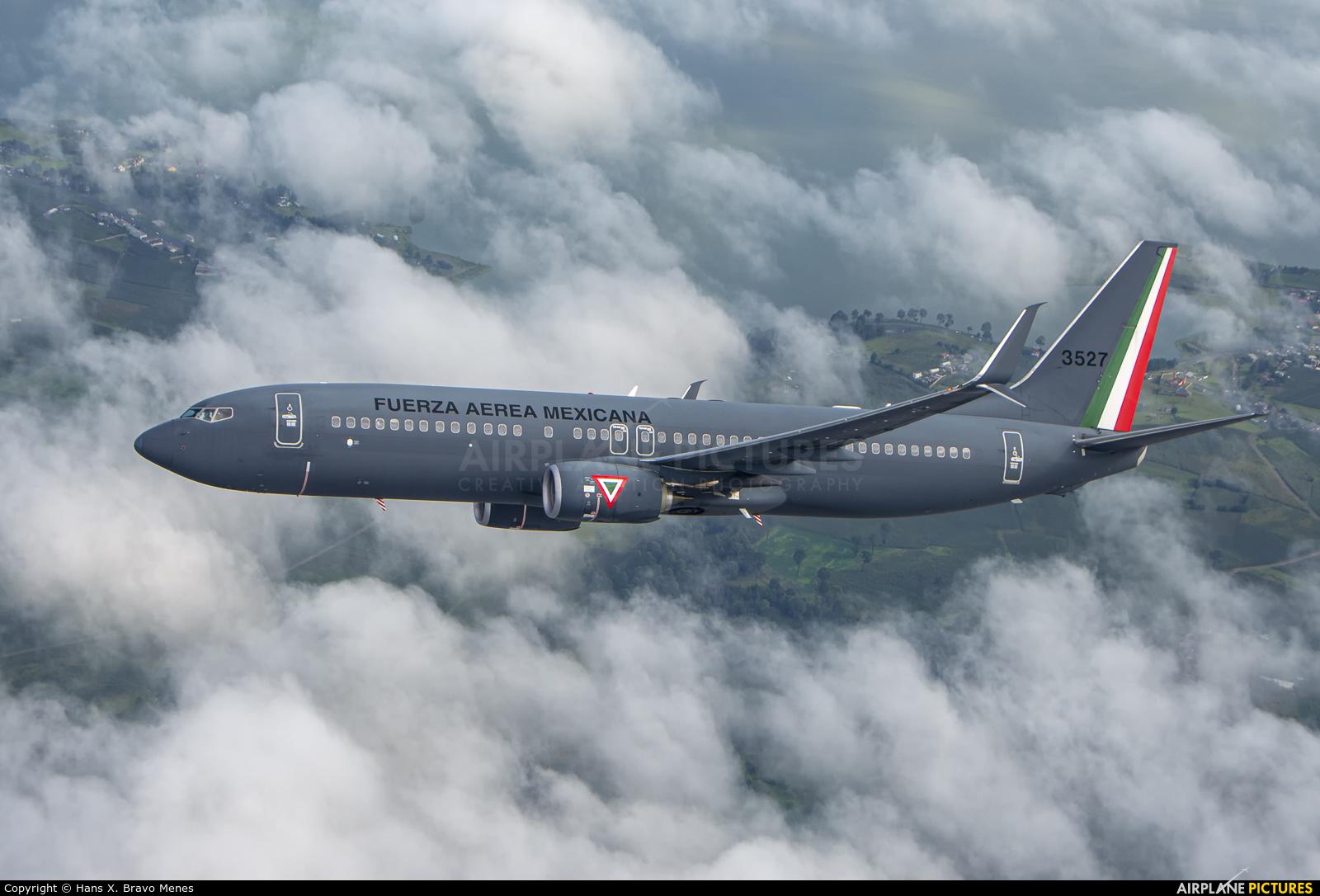 Mexico - Air Force 3527 aircraft at In Flight - Mexico